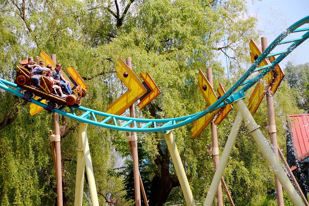 Jora Vision Exotic World Walibi Belgium coaster