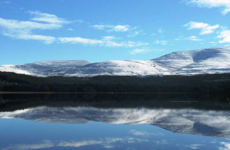 Aviemore in the Cairngorms