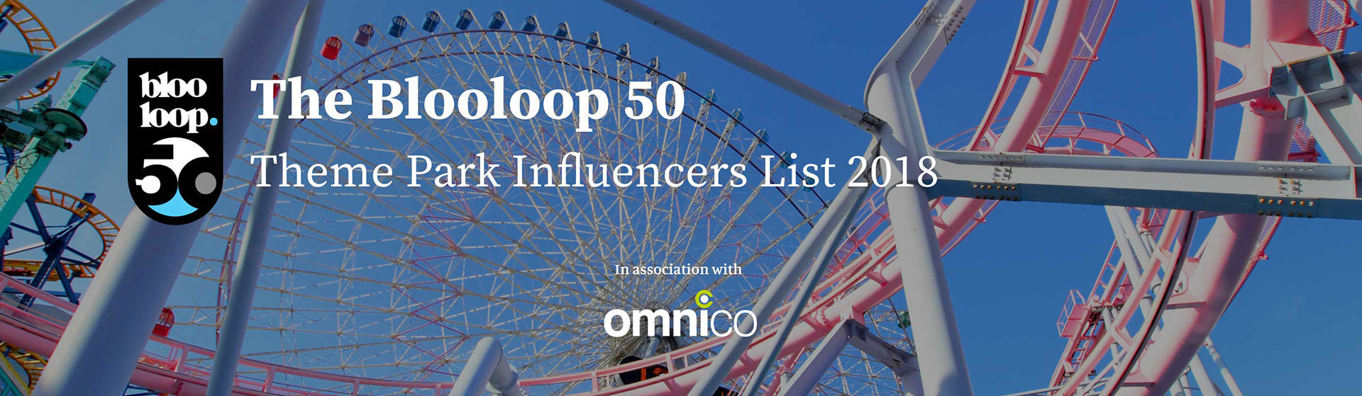 Blooloop Theme Park Influencer List 2018