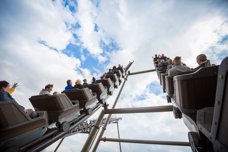 vekoma family boomerang racer coaster