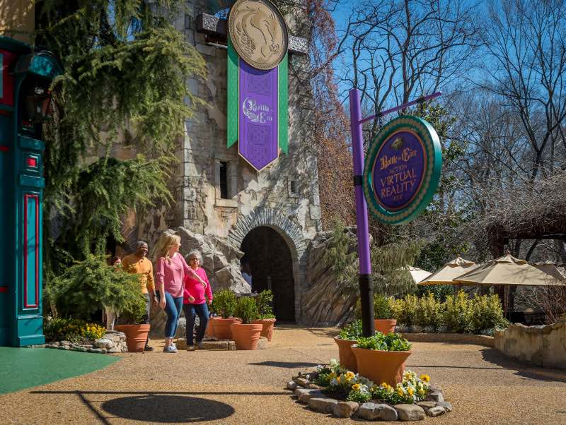 Busch Gardens Williamsburg Battle for Eire VR building exterior