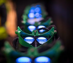 Busch Gardens Williamsburg Battle for Eire VR pre show Enchanted Lens