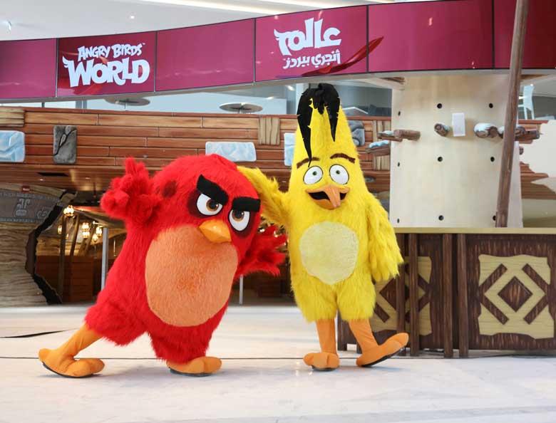 Rovio Angry Birds World Qatar