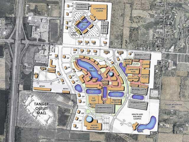 Planet Oasis multi-billion retailtainment complex planned for Ohio