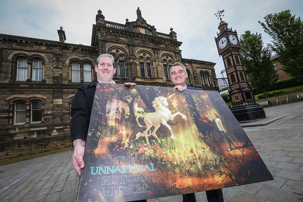The Unnatural history Museum fantasy attraction planned for Gateshead