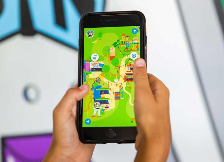 Play Disney Parks mobile app digital theme park experience