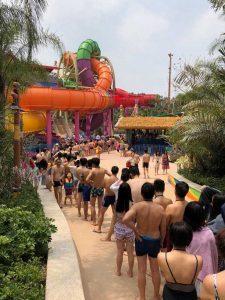 wiegand.maelzer have created the SlideWheel - the world's first rotating water slide. The first installation is at Chimelong.