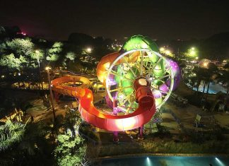 wiegand.maelzer celebrate world's first SlideWheel at Chimelong