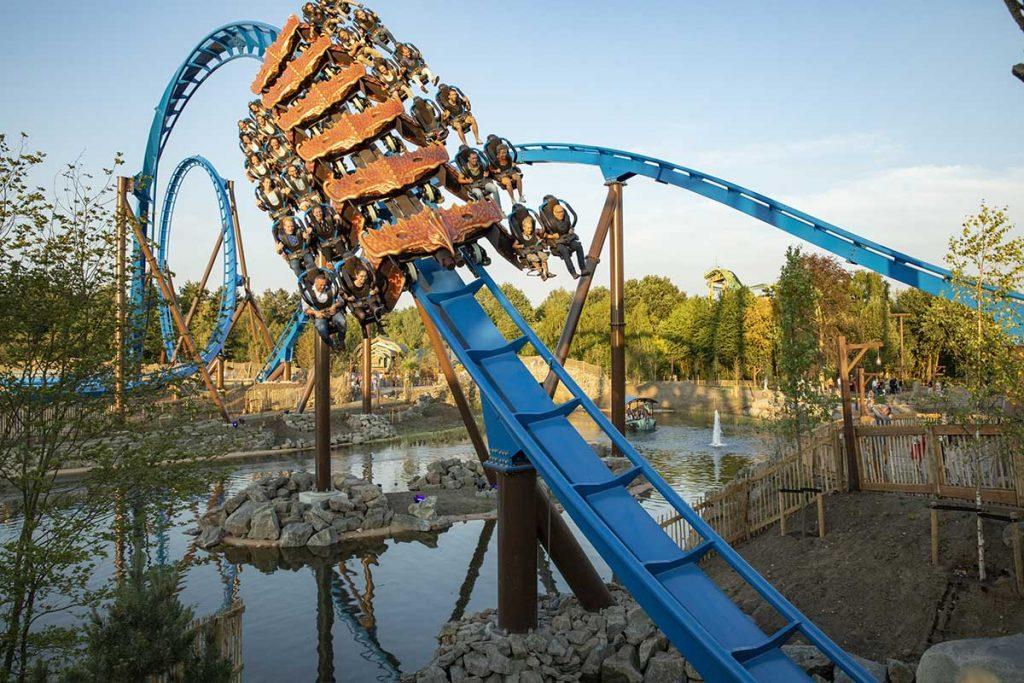 Toverland theme park expansion Fenix rollercoaster