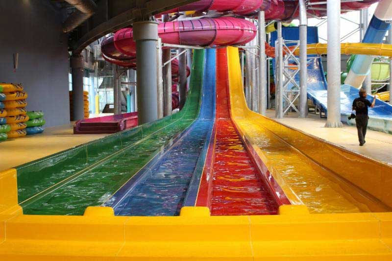 Polin supply waterslides to LetoLeto waterpark Russia