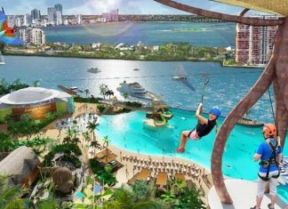 Jungle Island Miami eco adventure zip line