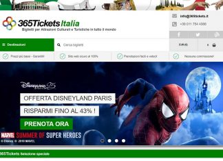 365Tickets Italia online attractions ticket distributor
