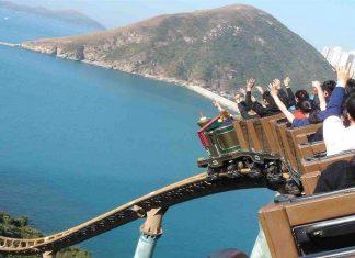 Ocean Park Hong Kong rollercoaster