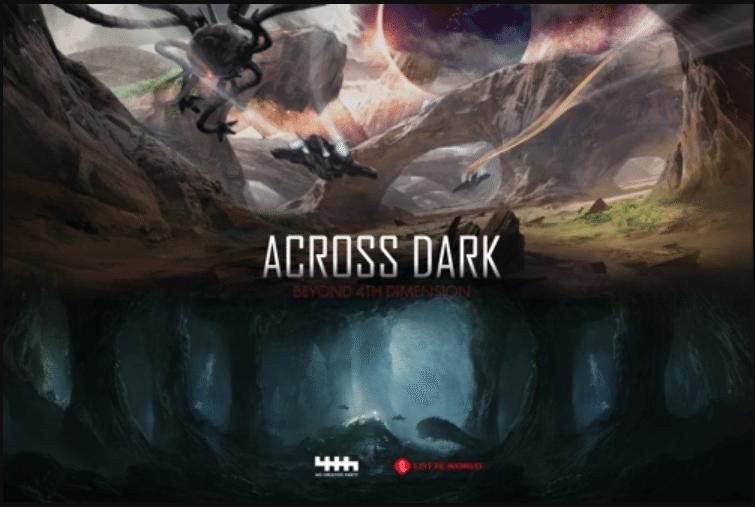 lotte world adventure vr attraction across dark