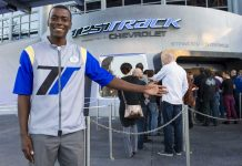 Test Track Chevrolet Epcot Disney brand sponsorship