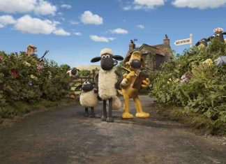 Shaun the Sheep Farm Garden Aardman