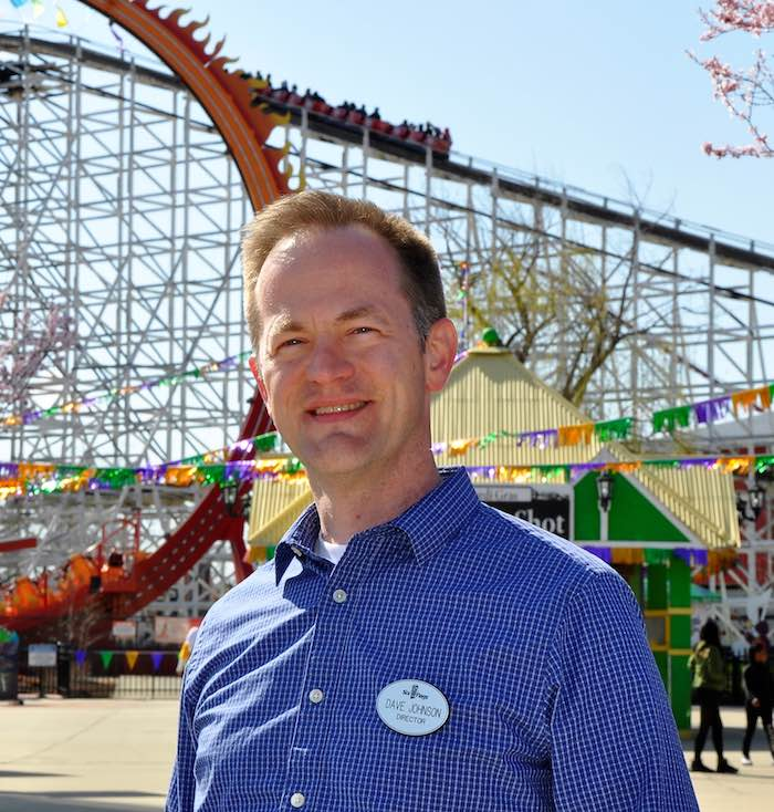 Dave Johnson: Director of Marketing, Six Flags America theme park people