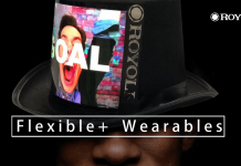 royole flexible wearables