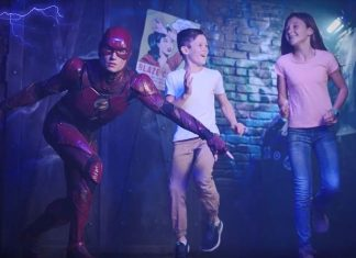 Justice League Madame Tussauds Sydney Holovis