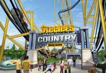NFL themed Steelers Country at Kennywood includes record-breaking coaster
