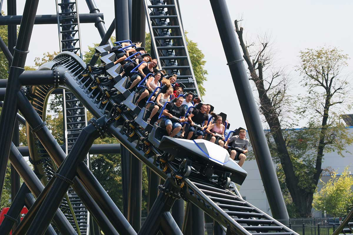Intamin supplies Hyperion mega coaster to Energylandia theme park