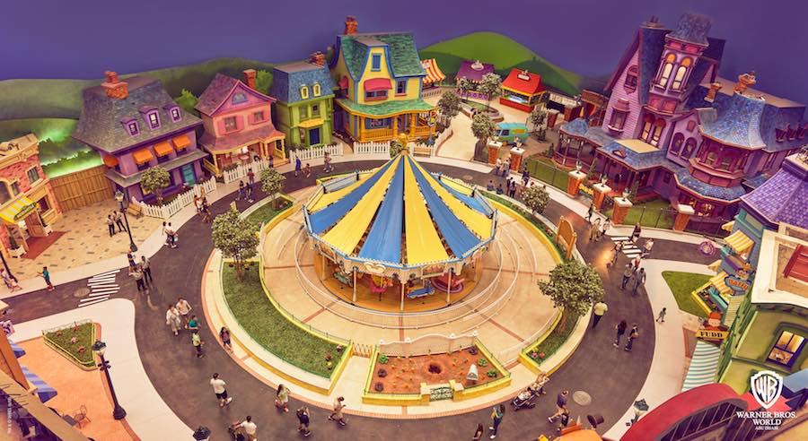 Warner Bros. World Abu Dhabi Cartoon Junction Carousel