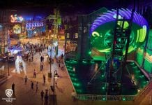 Gotham City Warner Bros World Abu dhabi Riddler Revolution