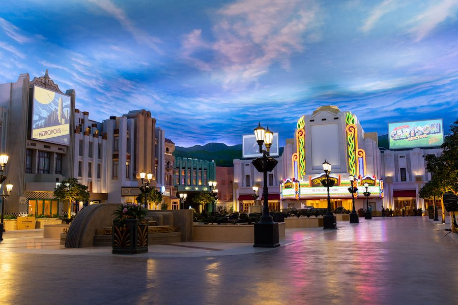 Warner Bros  World Abu Dhabi: 21st Century movie park in UAE