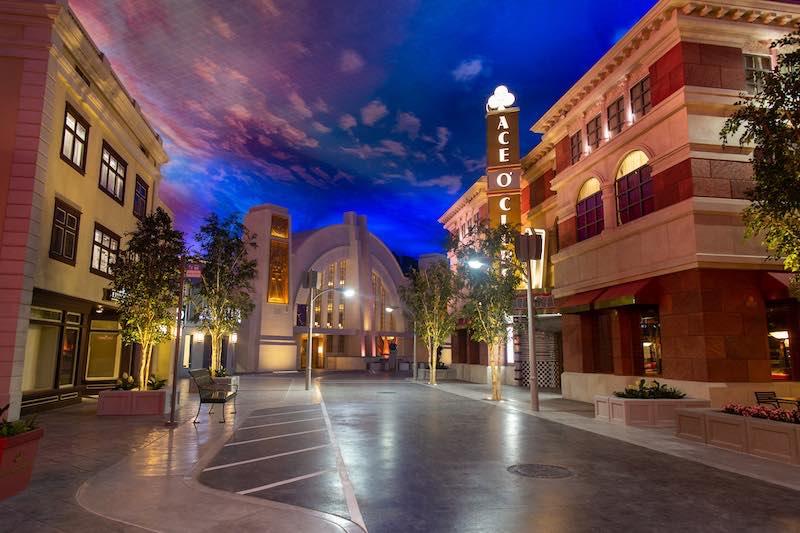 Abu Dhabi, United Arab Emirates, July 18, 2018: Warner Bros. World Abu Dhabi in Abu Dhabi on July 18, 2018. Christopher Pike, www.cpike.com