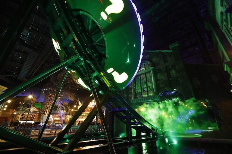 Riddler Revolution at Warner Bros World Abu Dhabi