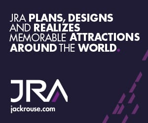 JRA, designing attractions