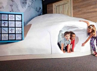 Children exploring science north wild weather exhibit