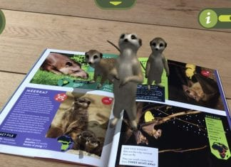 meerkats knowsley safari guidebook AR Safari