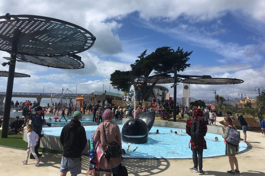 New Brighton Playground Opening Day