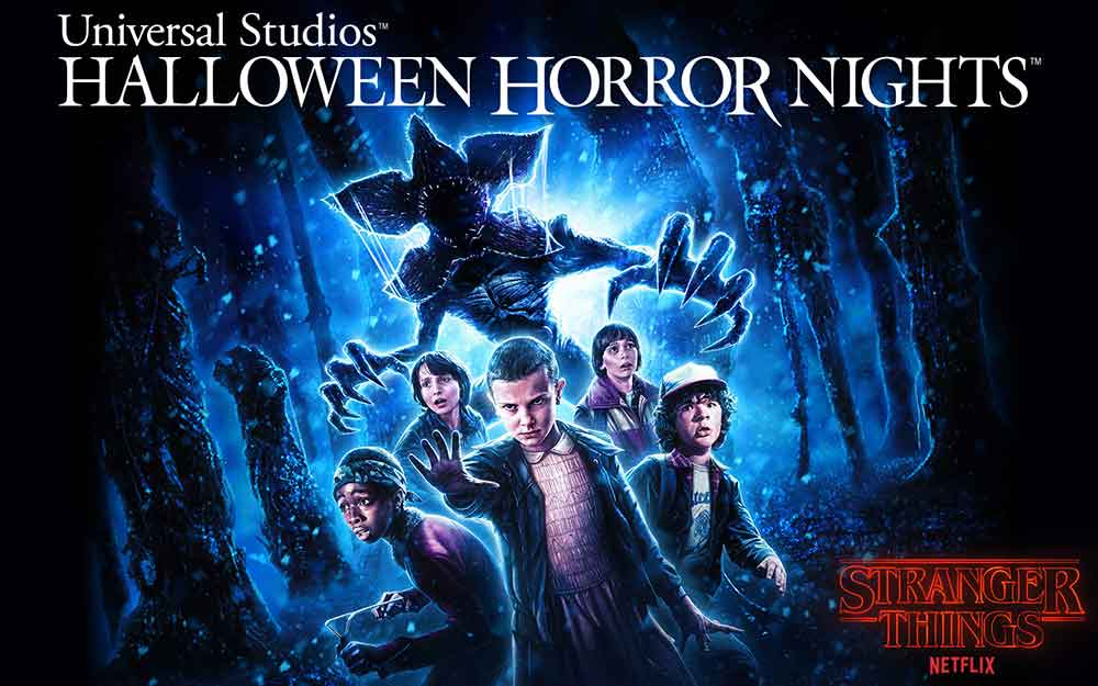 Starger Things Universal Halloween Horror Nights