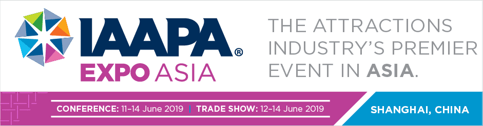 IAAPA Expo Asia 2019 Banner