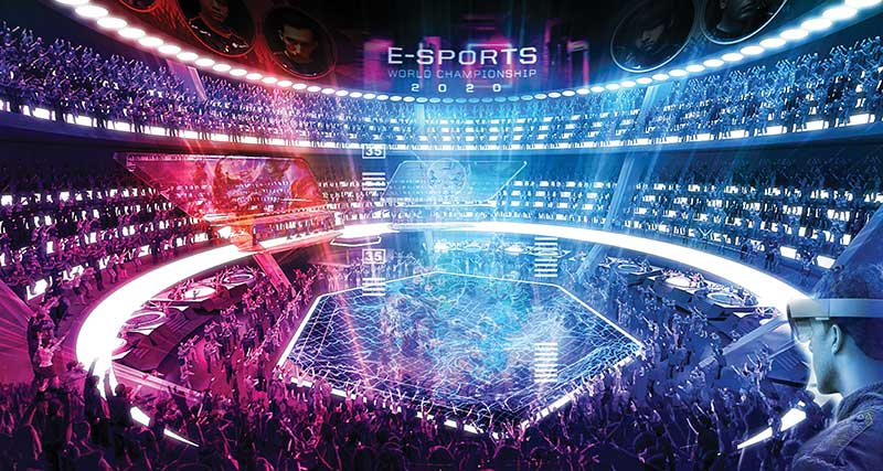 Esports -Stadium-Interior