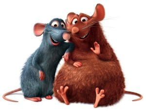 Ratatouille mice disney