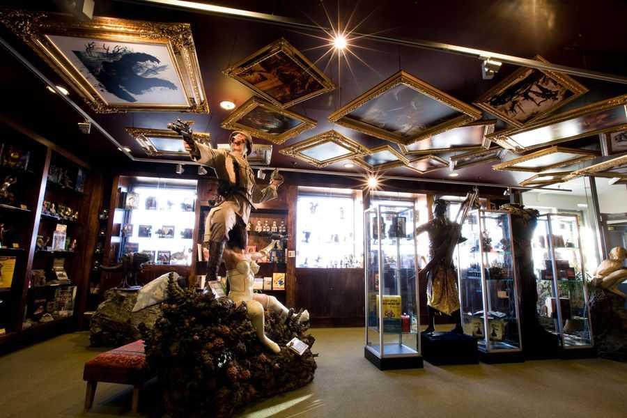 Weta Cave merchandise store