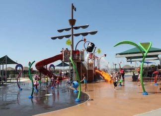 Vortex Pirate splash pad play