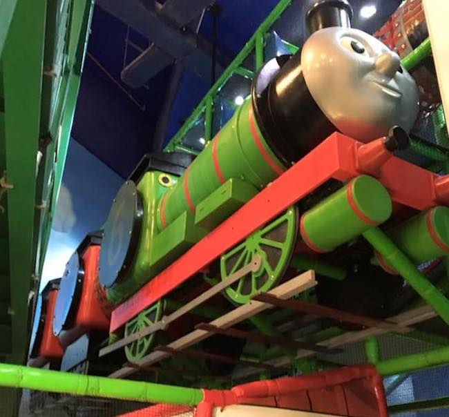 IplayCo Thomas and Friends at Mattel Play Town Dubai