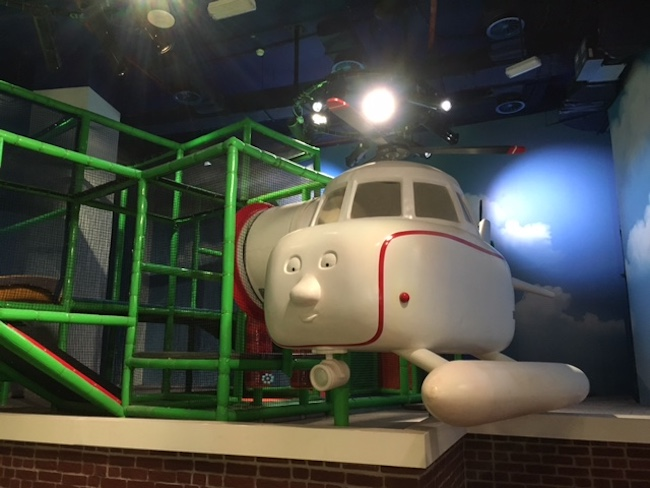 Plane at Thomas and Friends Mattel Play Town Dubai