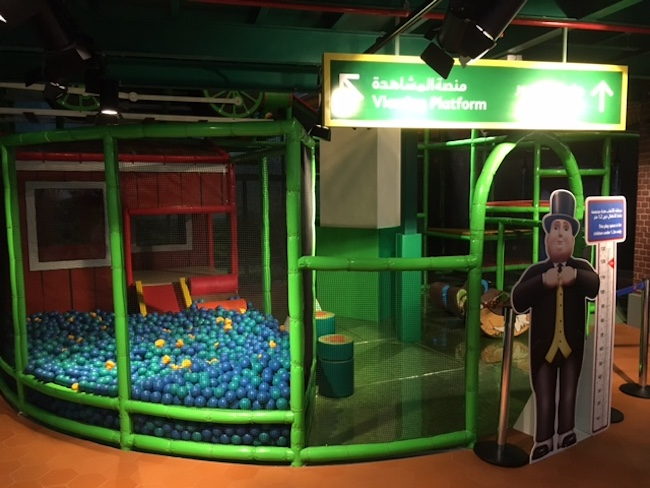 Play area at Mattel Play Town Dubai iPlayCo