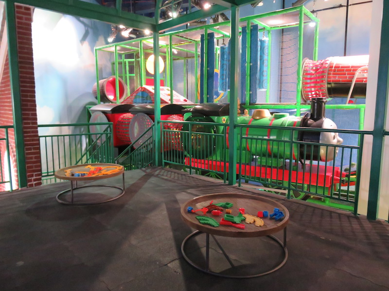 Play area IplayCo at Mattel Play Town Dubai