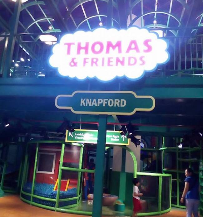 Thomas and Friends Mattel Play Town Dubai iPlayCo