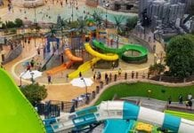 ProSlide design and install first-in-Asia slides at Shinhwa Waterpark