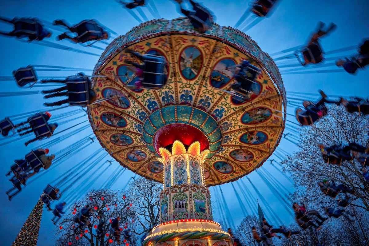 the swing carousel tivoli gardens Lasse_Salling.