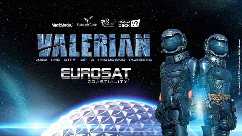 roam & ride valerian poster VR experiences