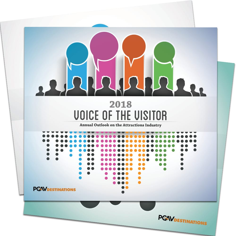 Voice of the Visitor: Annual Outlook on the Attractions Industry research by PGAV Destinations