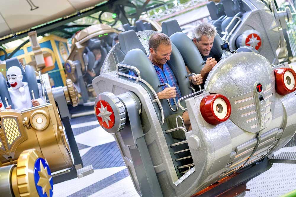 Tivoli Gardens theme park Tik Tak